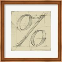 Drafting Symbols III Fine-Art Print