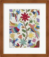 Otomi Embroidery I Fine-Art Print