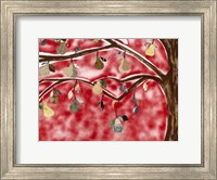 Red Pear Tree Fine-Art Print