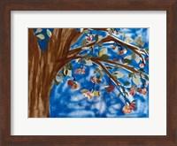 Blue Apple Tree Fine-Art Print
