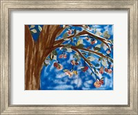 Blue Apple Tree Fine-Art Print