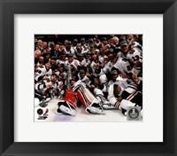Chicago Blackhawks celebrate 2013 Stanley Cup Finals Fine-Art Print