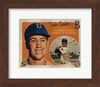 Duke Snider 2013 Studio Plus Fine-Art Print