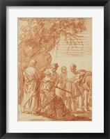 The Prophet Elisha and the Shunammite Woman Fine-Art Print