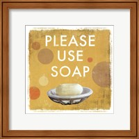 Please Use Soap-Mini Fine-Art Print