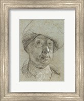Self-Portrait Wearing a Cloth Hat Fine-Art Print
