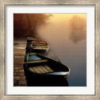 Misty Boats Fine-Art Print