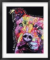 Thoughtful Pit Bull 1 Fine-Art Print