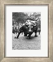 Wall Street Bull Sculpture 1 Fine-Art Print