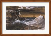 Sailboat on the Sea Fine-Art Print
