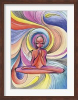 Yoga Burst Fine-Art Print