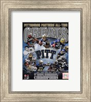 University of Pittsburgh Panthers All Time Greats Fine-Art Print