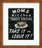 Mom's Kitchen Fine-Art Print