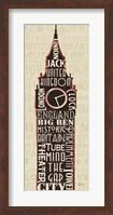 London City Words II Fine-Art Print