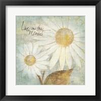 Daisy Do III - Live in the Moment Fine-Art Print