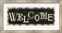 Room Signs IV - Welcome Fine-Art Print
