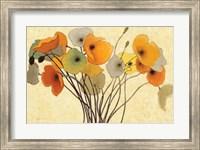 Pumpkin Poppies I Fine-Art Print