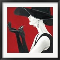 Haute Chapeau Rouge II Fine-Art Print