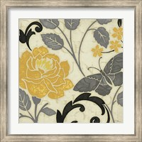 Perfect Petals I Yellow Fine-Art Print