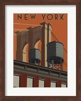 New York Travel Poster Fine-Art Print