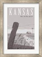Wizard Oz Kansas Duo Fine-Art Print