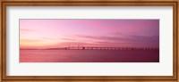 Dawn, Chesapeake Bay Bridge, Maryland, USA Fine-Art Print