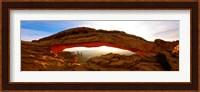 Mesa Arch glowing at sunrise, Canyonlands National Park, Utah, USA Fine-Art Print