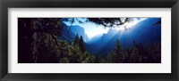 Tunnel View Point at sunrise, Yosemite National Park, California, USA Fine-Art Print