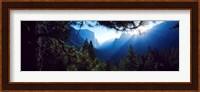 Tunnel View Point at sunrise, Yosemite National Park, California, USA Fine-Art Print