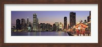 View Of The Navy Pier And Skyline, Chicago, Illinois, USA Fine-Art Print