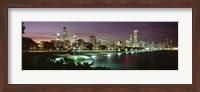 Chicago Lit Up at Night Fine-Art Print
