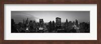 Black and White View of Chicago Skyline Fine-Art Print