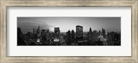 Black and White View of Chicago Skyline Fine-Art Print