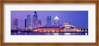 Building at the waterfront, Tampa, Florida, USA Fine-Art Print