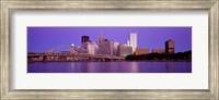 Allegheny River Pittsburgh PA Fine-Art Print