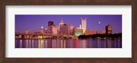 Allegheny River, Pittsburgh, Pennsylvania, USA Fine-Art Print