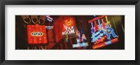 Neon Signs, Beale Street, Memphis, Tennessee, USA Fine-Art Print
