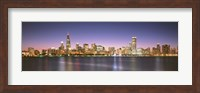 Buildings at the waterfront, Chicago, Illinois Fine-Art Print