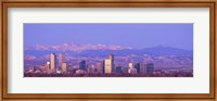 Denver Skyline, Colorado Fine-Art Print