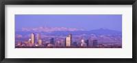 Denver Skyline, Colorado Fine-Art Print