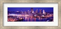 USA, Pennsylvania, Pittsburgh at Dusk Fine-Art Print