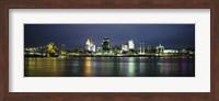 Ohio River Skyline at Night Fine-Art Print