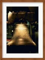Close-up of a bell, Liberty Bell, Philadelphia, Pennsylvania, USA Fine-Art Print