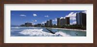 Waikiki Beach, Honolulu, Oahu, Hawaii Fine-Art Print