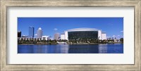 Buildings at the waterfront, St. Pete Times Forum, Tampa, Florida, USA Fine-Art Print