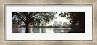 Lake Eola, Orlando, Florida (black & white) Fine-Art Print