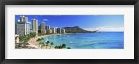 Diamond Head, Waikiki Beach, Oahu, Honolulu, Hawaii Fine-Art Print