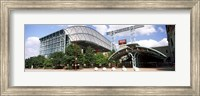 Baseball field, Minute Maid Park, Houston, Texas, USA Fine-Art Print