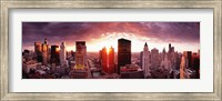 Sunset River View, Chicago, IL Fine-Art Print