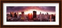 Sunset River View, Chicago, IL Fine-Art Print